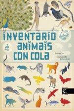 Inventario ilustrado de animais con cola