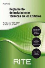 REGLAMENTO DE INSTALACIONES TERMICAS EN LOS EDIFICIOS RITE 2013