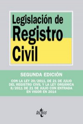 Legislación de registro civil