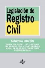 Legislación de registro civil