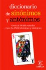 Diccionario mini de sinónimos y antónimos