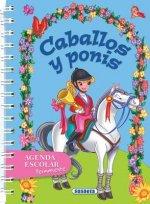 Caballos y Ponis: Agenda Escolar Permanente