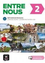Entre nous 2 Podrecznik z cwiczeniami + CD