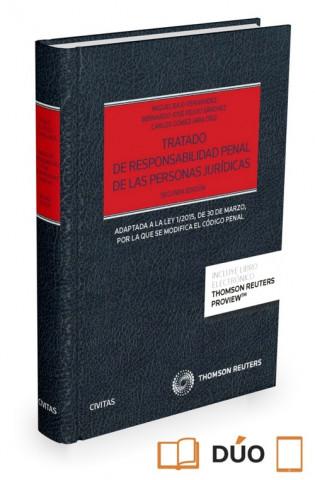 TRATADO DE RESPONSABILIDAD PENAL DE PERSONAS JURIDICAS