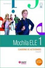 Mochila 1 cwiczenia + CD audio + portfolio