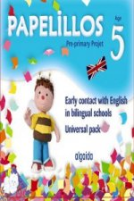 Papelillos, early contact with English in bilingual schools, Educación Infantil, 5 years
