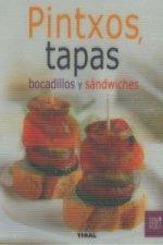 Pintxos, tapas, bocadillos y sándwiches