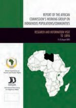 Report of the African Commissions Working Group on Indigenous Populations / Communities: Research and Information Visit to Libya, August 2005