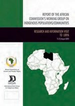 Report of the African Commission's Working Group on Indigenous Populations / Communities - Mission to the Republic of Rwanda, December 2008