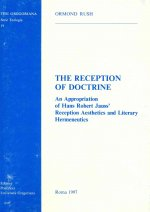 Reception of Doctrine: An Appropriation of Hans Robert Jauss' Reception Aesthetics and Literary Hermeneutics