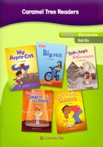 Caramel Tree Readers: Level 5 Storybooks, Set 5a: My Super Cat/The Big Hill/Kahotep's Adventure/Sarah Snow - Star of the Show!/The Cheesy Man Giant