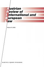 Austrian Review of International and European Law, Volume 10 (2005)