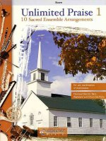 Unlimited Praise 1: 10 Sacred Ensemble Arrangements