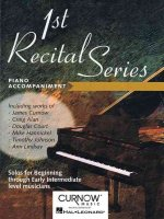 First Recital Series: Piano Accompaniment for Flute
