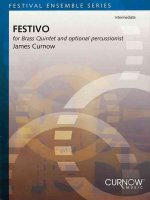 Festivo: For Brass Quintet and Optional Percussionist
