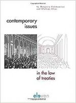 CONTEMPORARY ISSUES IN LAW OF TREATIES