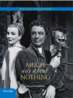 Much Ado about Nothing: Text with Paraphrase
