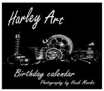 Harley art birthday calender
