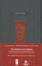 The Koren Sacks Siddur: A Hebrew/English Prayerbook for Shabbat & Holidays with Translation & Commentary by Rabbi Sir Jonathan Sacks, Canadian