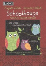 Schoolhouse 2017 Monthly Pocket Planner