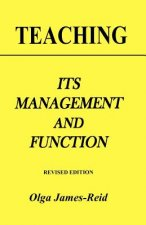 Teaching: Its Management and Function
