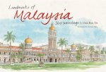 Landmarks of Malaysia: 360 Paintings