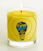 Plato Candle: (Candle)