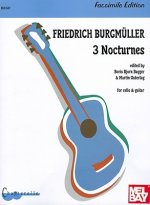 Burgmuller: 3 Nocturnes for Cello & Guitar