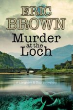 MURDER AT THE LOCH LARGE PRINT