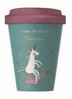 Becher BambooCUP - Time for Unicorns