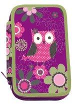 Školní penál dvoupatrový - Owl