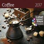 Kalendář nástěnný 2017 - Coffee