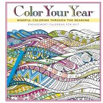 Color Your Year Engagement Calendar 2017