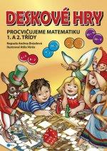 Deskové hry Procvičujeme matematiku 1. a 2. třídy ZŠ