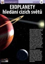 Naučné karty Exoplanety hledání cizích světů