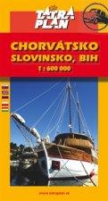 Chorvátsko, Slovinsko, BIH, Č.Hora 1:600 000