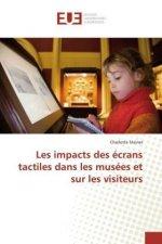 Les impacts des écrans tactiles dans les musées et sur les visiteurs