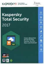 Kaspersky Total Security Multi-Device 2017, 1 Code in a Box