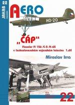 ČÁP Fieseler Fi 156 /C-5 /K-65 v československém vojenském letectvu - 1.díl