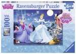 Adorable Cinderella (100 PC XXL Puzzle with Glitter)