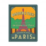 Paris Stitch Lined Notebook Large: Vy6762