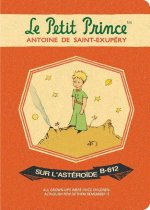 Le Petit Prince Stitch Stitch Medium Blank Notebook: Lp7059