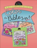 Color the Bible 3-In-1 (Volume 2): An Adult Coloring Book for Your Soul