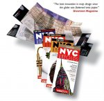 NYC Classic Unfolds Pop-Up Map by Vandam NYC Classic Unfolds Pop-Up Map by Vandam