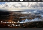 Volcanic Landscapes of Hawaii - UK Version (Wall Calendar 2017 DIN A4 Landscape)
