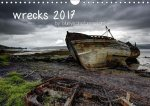 wrecks 2017 / UK-Version (Wall Calendar 2017 DIN A4 Landscape)