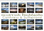 Scottish Highlands - Caithness & Sutherland / UK-Version (Wall Calendar 2017 DIN A4 Landscape)