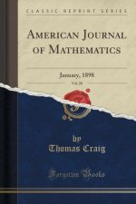 American Journal of Mathematics, Vol. 20