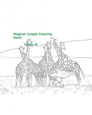 Magical Jungle Coloring Book