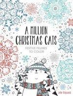 A Million Christmas Cats, Volume 8: Festive Felines to Color